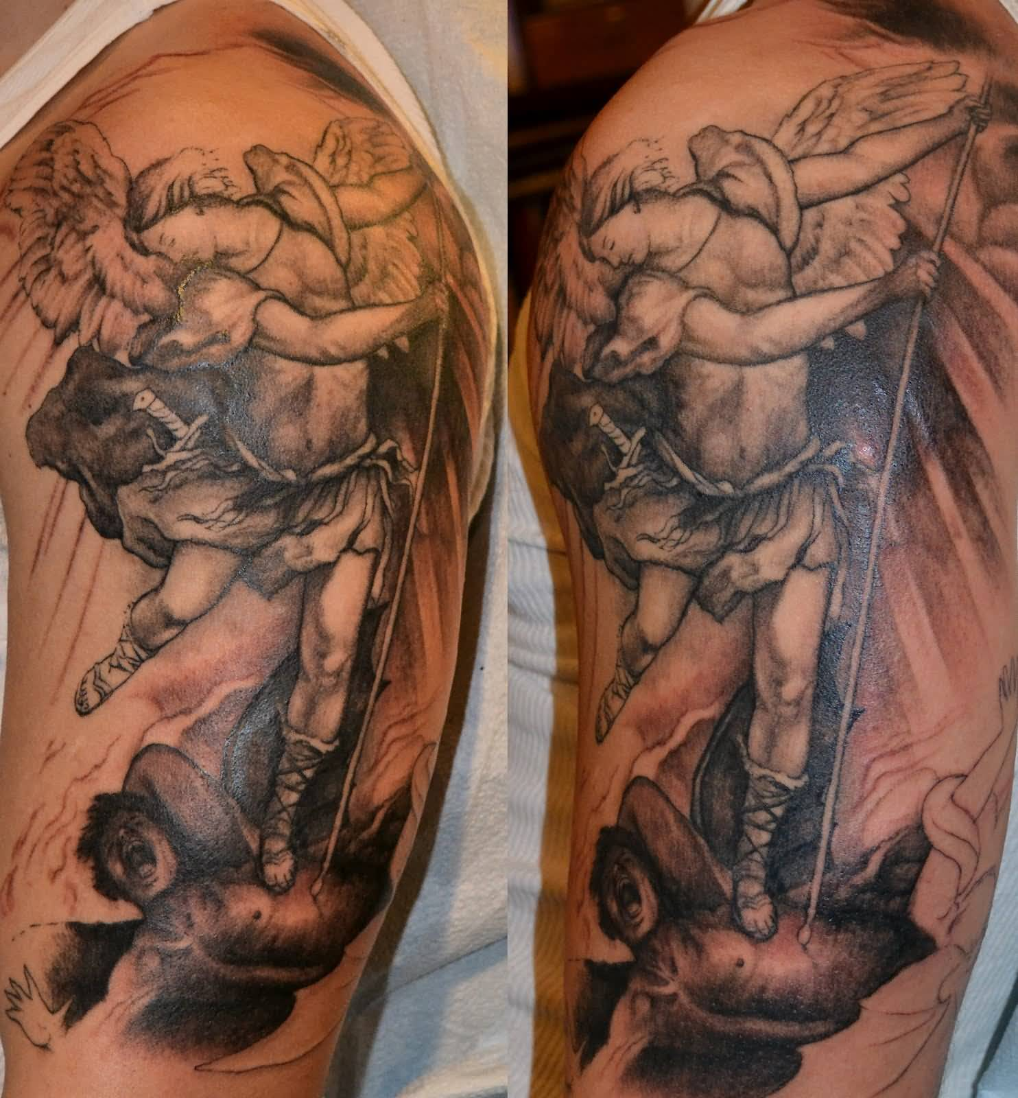 Good Vs Evil Tattoos