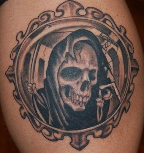 Mirror Tattoo Designs Ideas And Meaning: 75+ Wonderful Evil Tattoos
