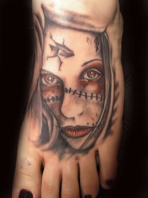 Evil Faces Tattoos Pictures to Pin on Pinterest - TattoosKid