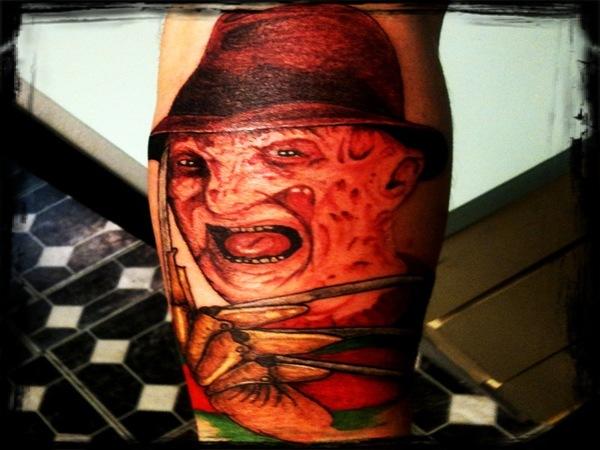 28+ Colorful Freddy Krueger Tattoos
