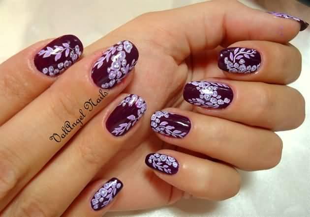 Autumn Nail Design Idea