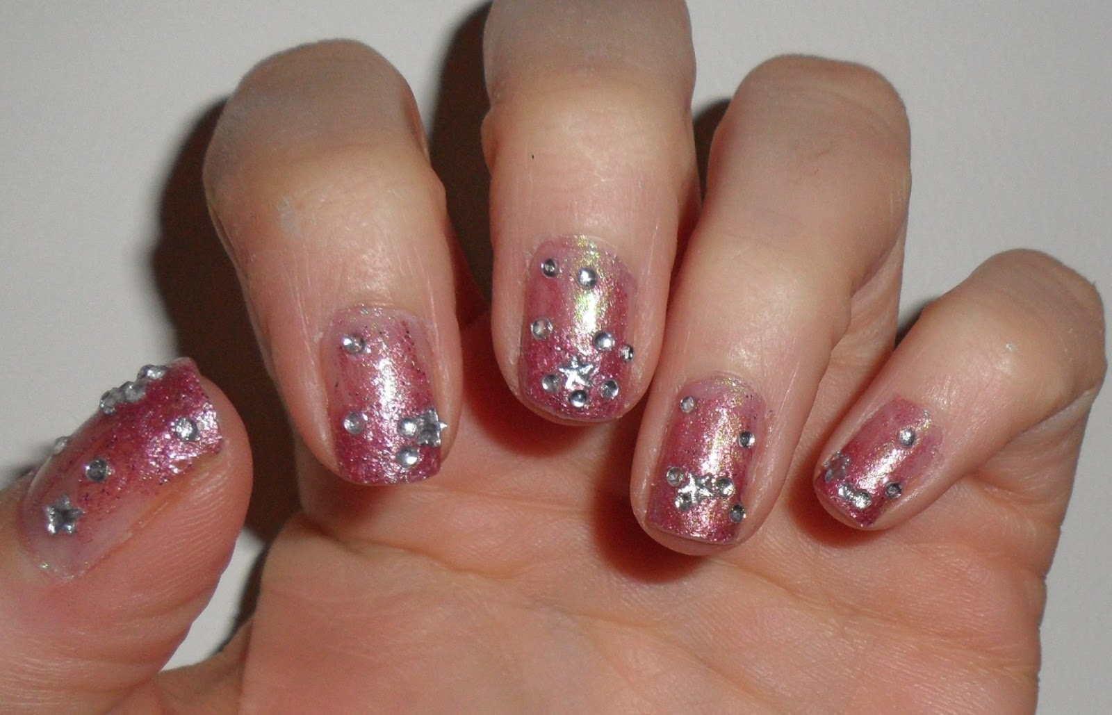 Nail Art Ideas nail art gems designs : Nail Art Rhinestones Designs - Best Nails Art Ideas