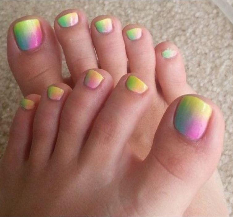 Easy Toe Nail Art Designs: 55+ Most Stylish Toe Nail Art Ideas
