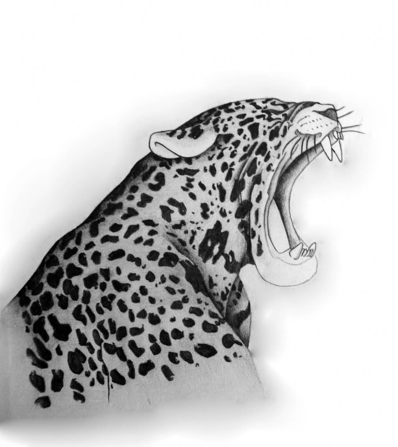 24+ Amazing Jaguar Tattoo Designs