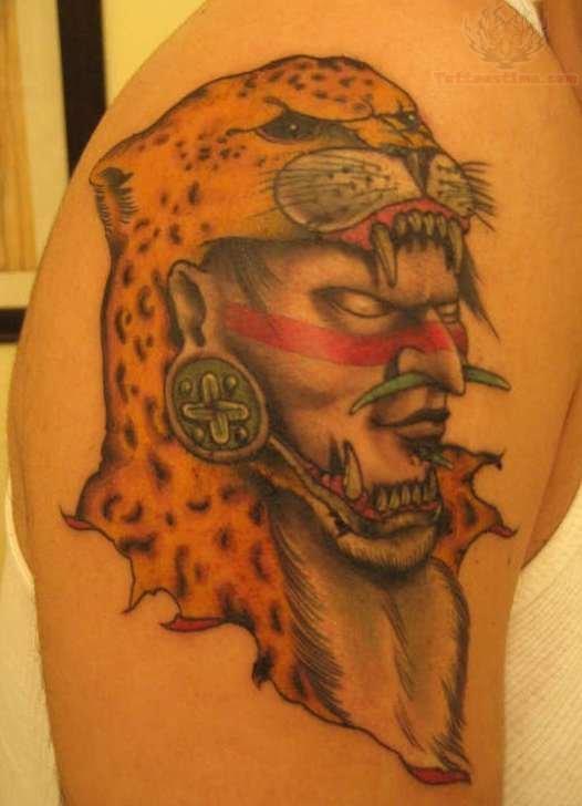 20+ Aztec Jaguar Tatto...