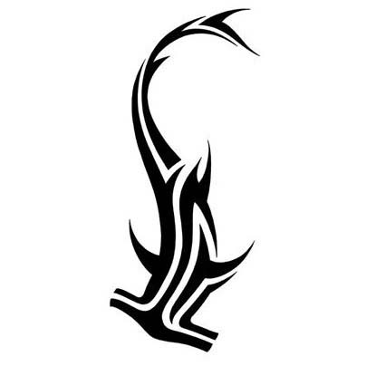 30 Awesome Hammerhead Shark Tattoo Designs