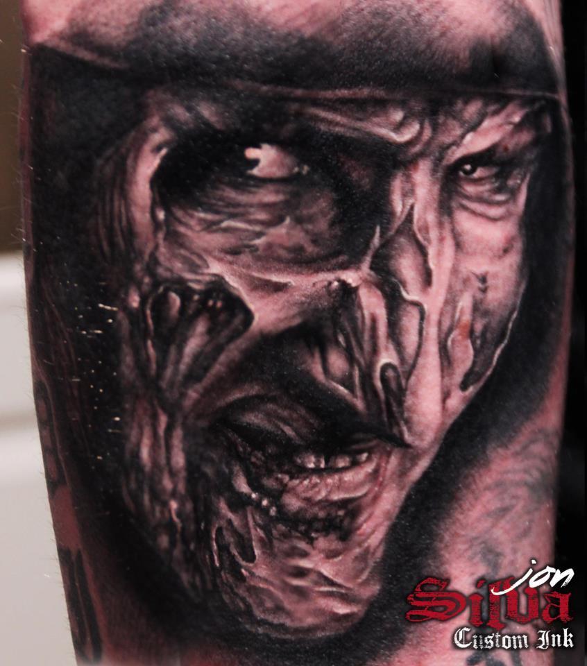 45e21e00b Wonderful Large Grey Freddy Tattoo