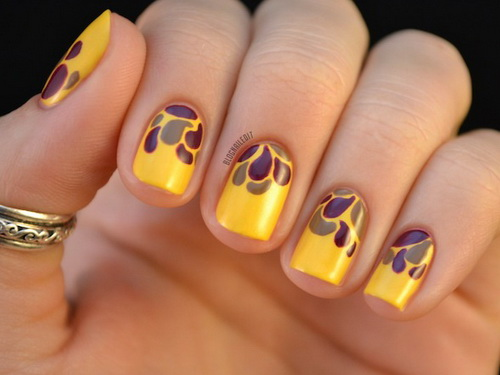 Image result for autumn nail design