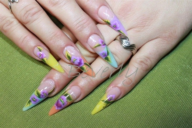 60 Most Beautiful Stiletto Nail Art Designs Ideas For Teen Girls