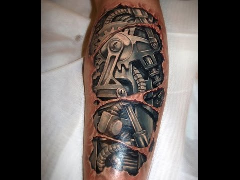 67 incredible mechanical tattoos. Black Bedroom Furniture Sets. Home Design Ideas