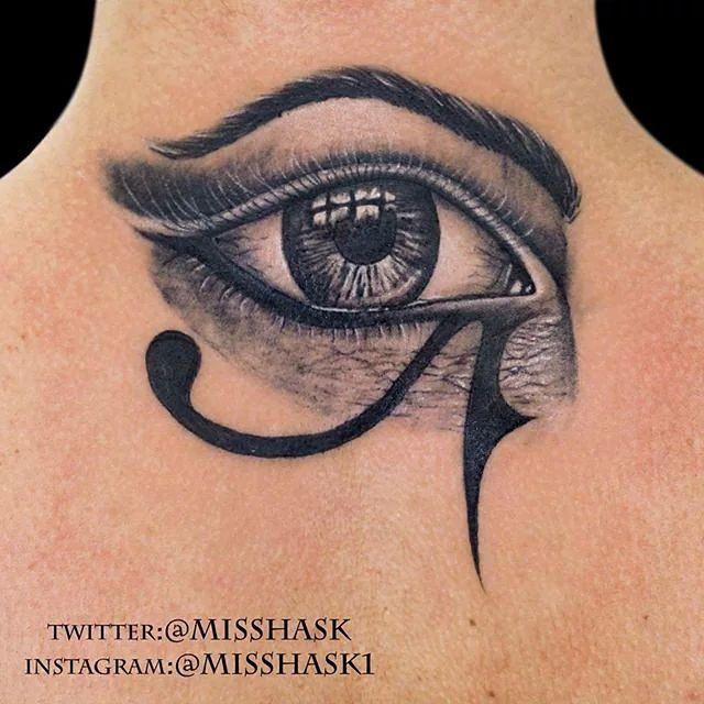 65+ Incredible Horus Eye Tattoos