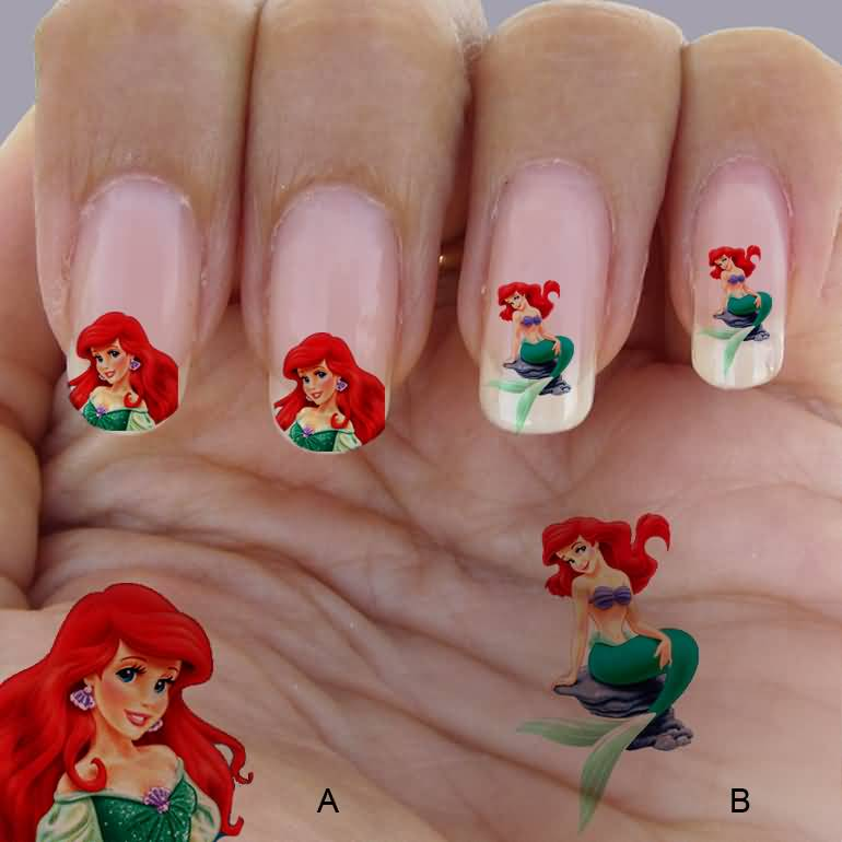 Cartoon Nail Art Disney The Best Inspiration For Design And Color
