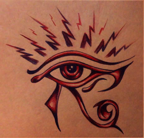 45 latest horus eye tattoo designs. Black Bedroom Furniture Sets. Home Design Ideas