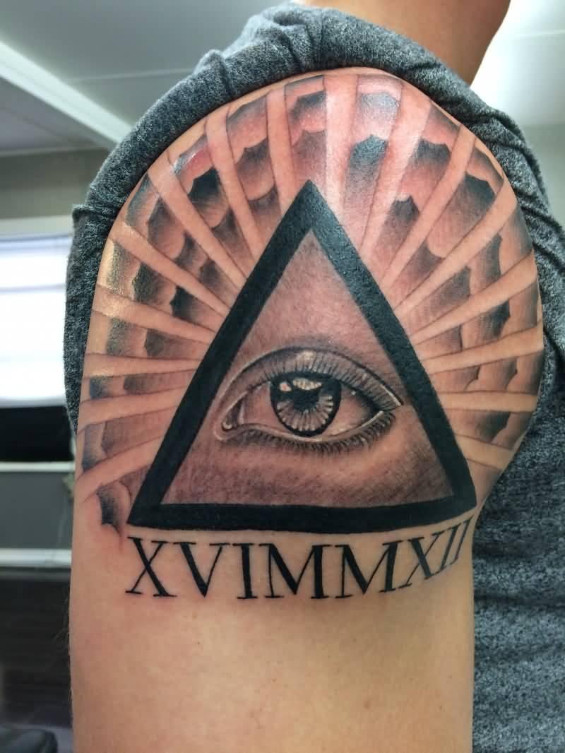 15+ Shoulder Horus Eye...