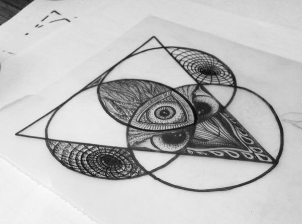 27+ Triangle Eye Tattoo Designs
