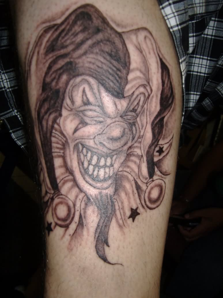 40+ Famous Jester Tattoos