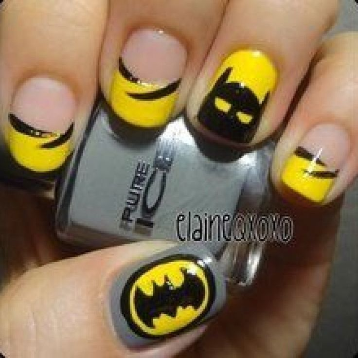 Easy cartoon nail art designs cartoon nail art designs ideas tutorial cartoon nail art mustache cat design view images prinsesfo Image collections