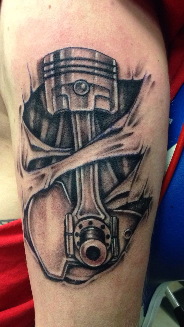 67 Incredible Mechanical Tattoos