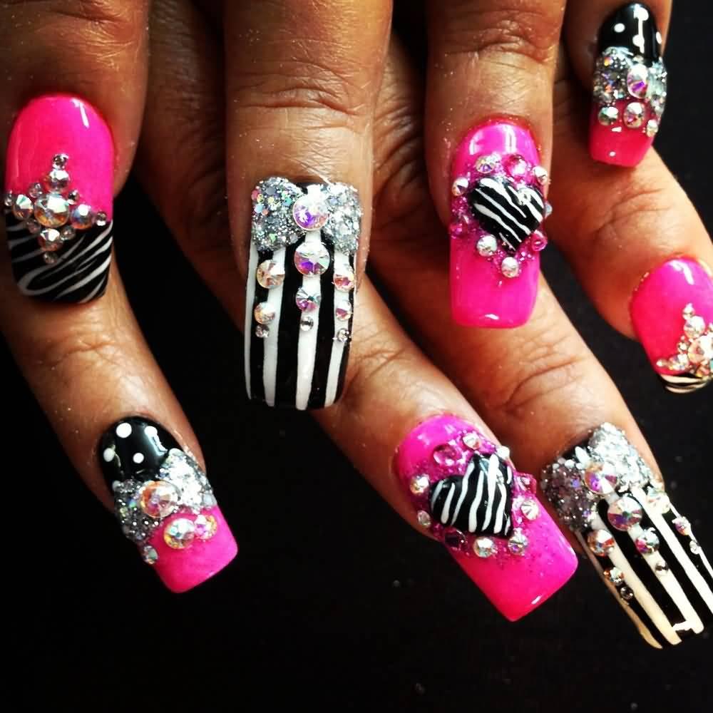 70 Most Beautiful 3d Nail Art Design Ideas For Trendy Girls