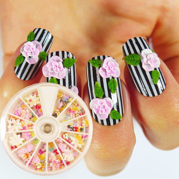 70 Most Beautiful 3d Nail Art Design Ideas For Trendy Girls: 60 Most Stylish 3D Nail Art Ideas For Trendy Girls