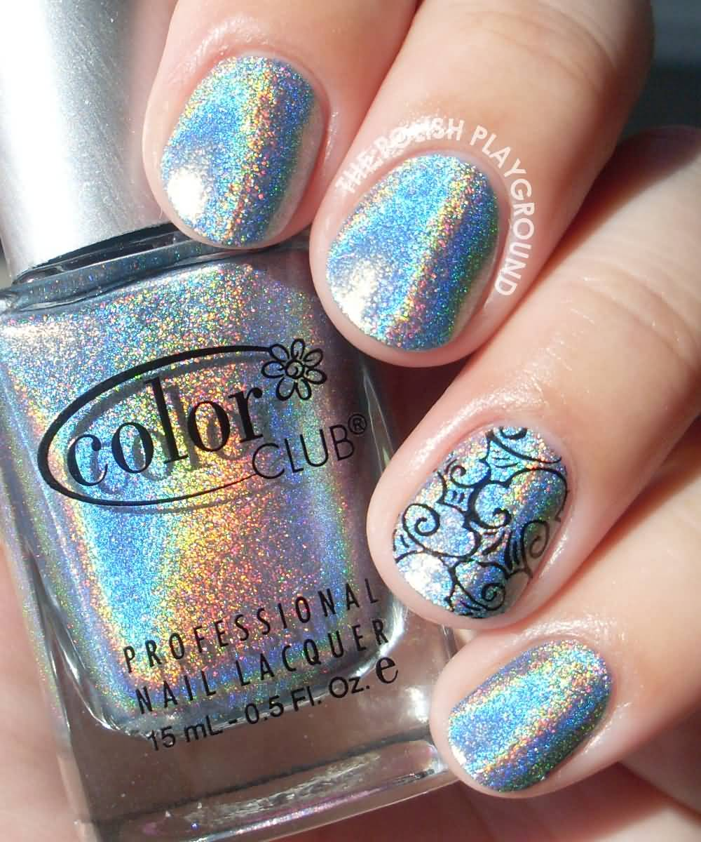 51 Most Stylish Hologram Nail Art Designs