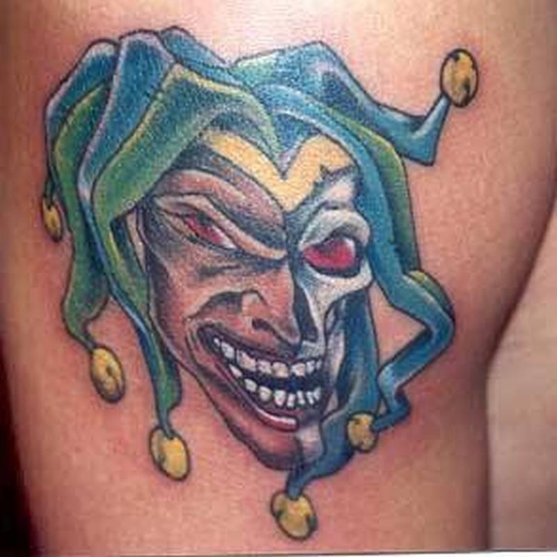 40+ Wonderful Jester Tattoos On Sleeve