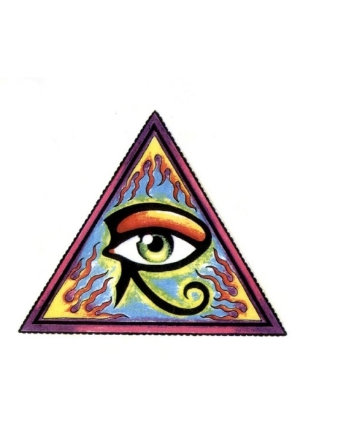 27+ Triangle Eye Tattoo Designs Eye Of Horus In Triangle