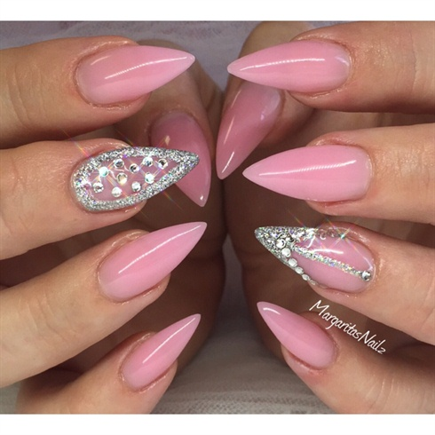 acrylic pointed nail designs  joy studio design gallery