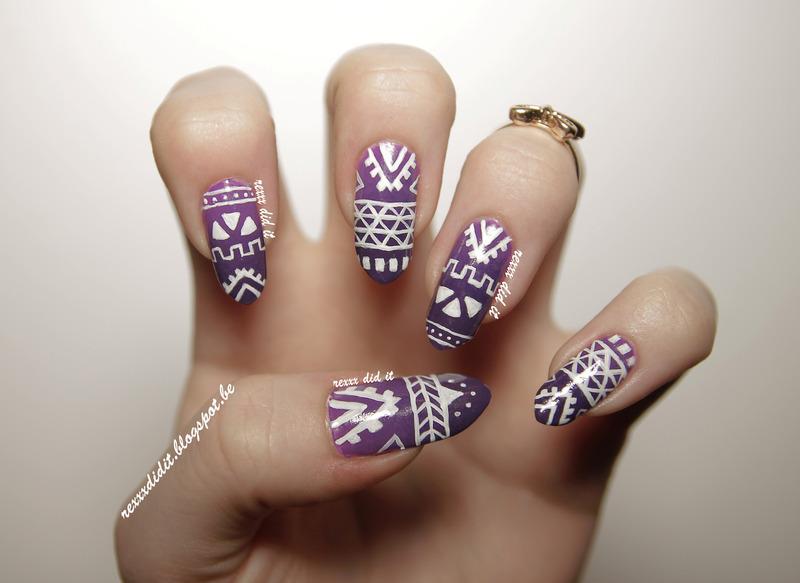 tribal nail design cute tribal nail design 65 cool tribal