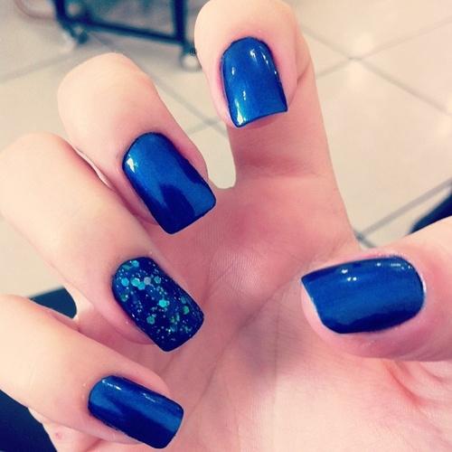 50 Best Blue Nail Art Design Ideas Electric Idea Prinsesfo Choice Image
