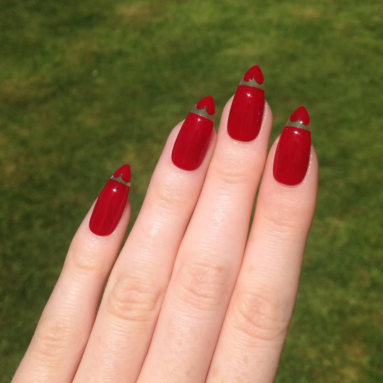 Stiletto Nail Art: 40+ Most Stylish Red Stiletto Nail Art Ideas