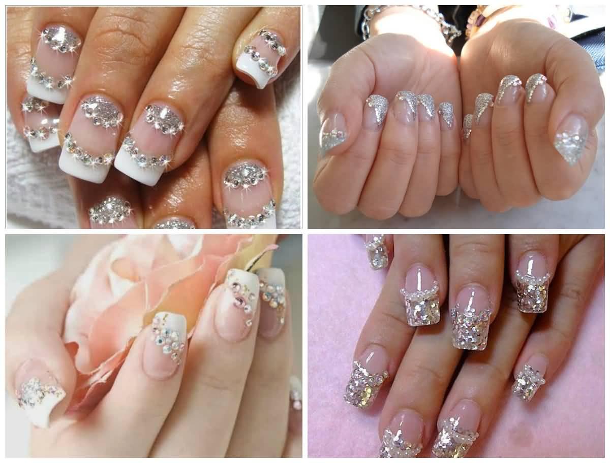 four beautiful glitter nail art design ideas - Nail Art Design Ideas