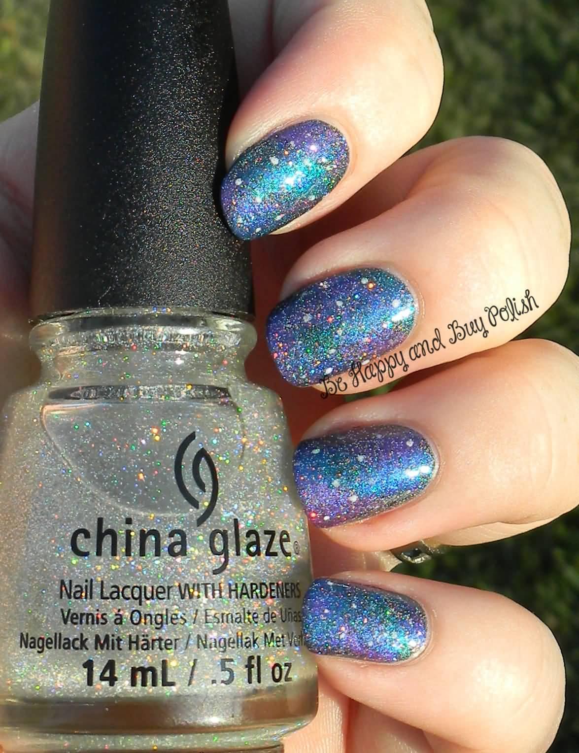 55 Best Galaxy Design Nail Art Ideas