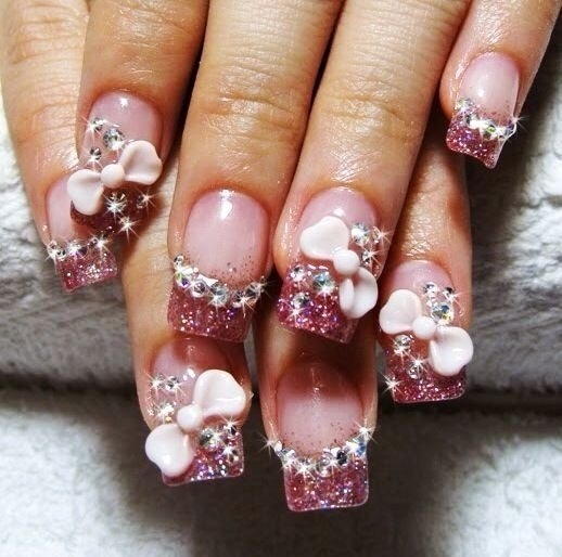 70+ Most Beautiful 3D Nail Art Design Ideas For Trendy Girls