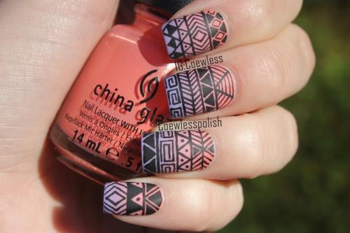 Tribal designs nails gallery nail art and nail design ideas nail art tribal designs choice image nail art and nail design ideas tribal nail art design prinsesfo Choice Image