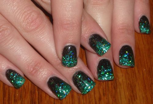 Green glitter nail designs image collections nail art and nail 55 best glitter nail art design ideas green glitter nail art design idea prinsesfo image collections prinsesfo Choice Image