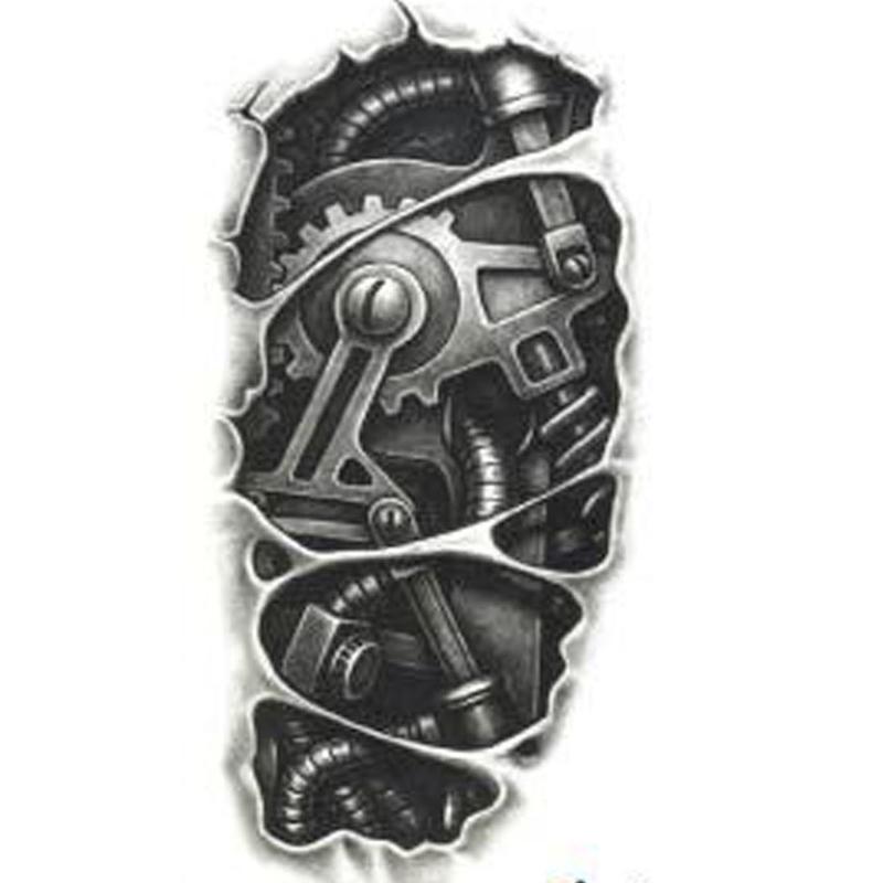 24+ Mechanical Tattoo Designs