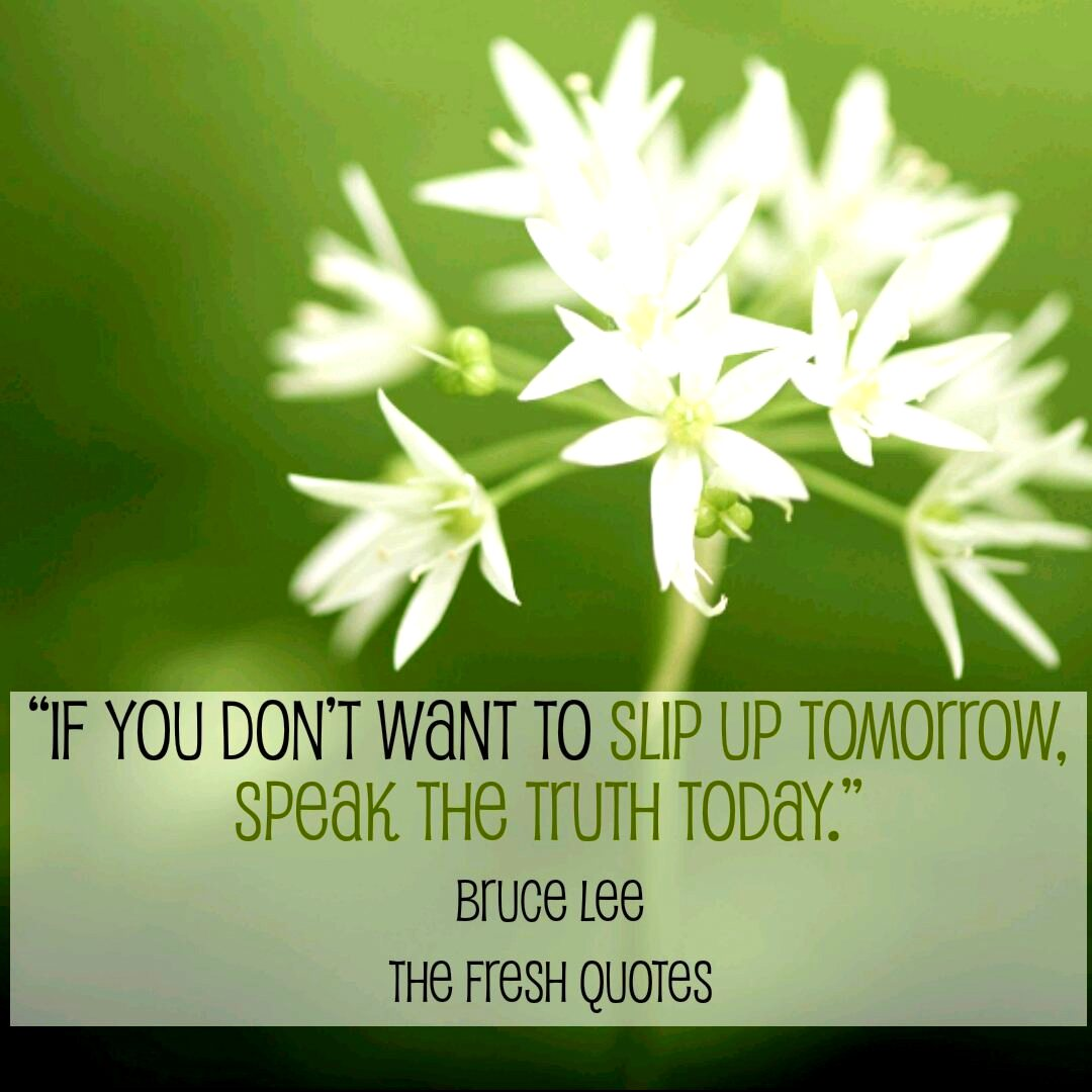 honesty quotes sayings about being honest if you don t want to slip up tomorrow speak the truth today