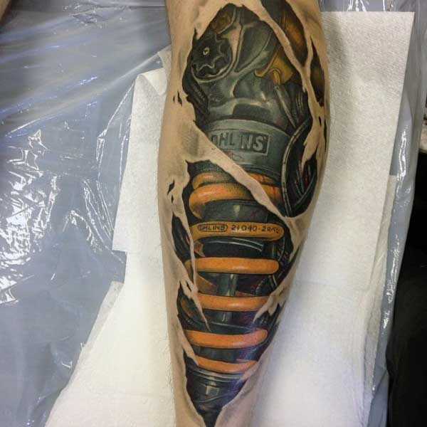 67 Incredible Mechanical Tattoos