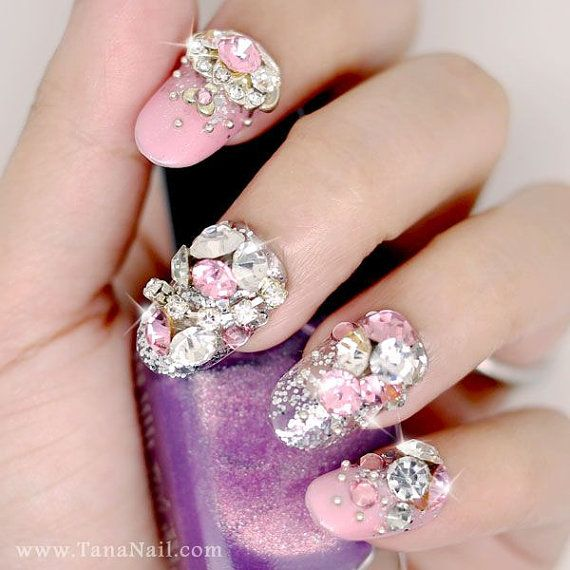 70+ Most Beautiful 3D Nail Art Design Ideas For Trendy Girls