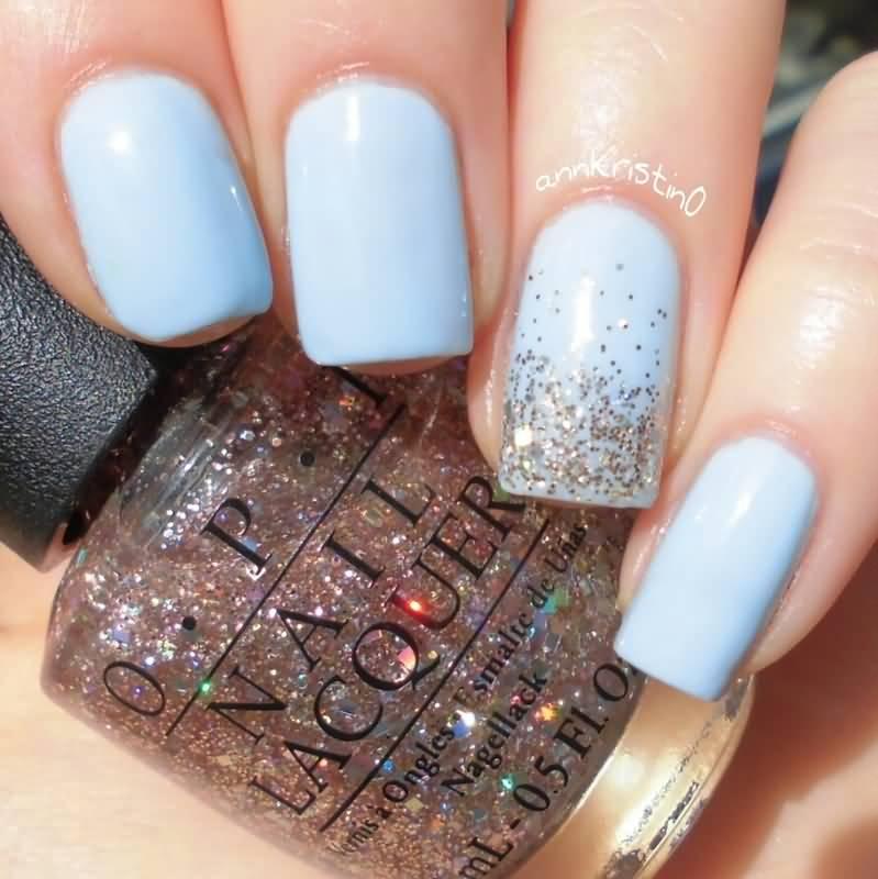 light blue and silver nail designs wwwpixsharkcom