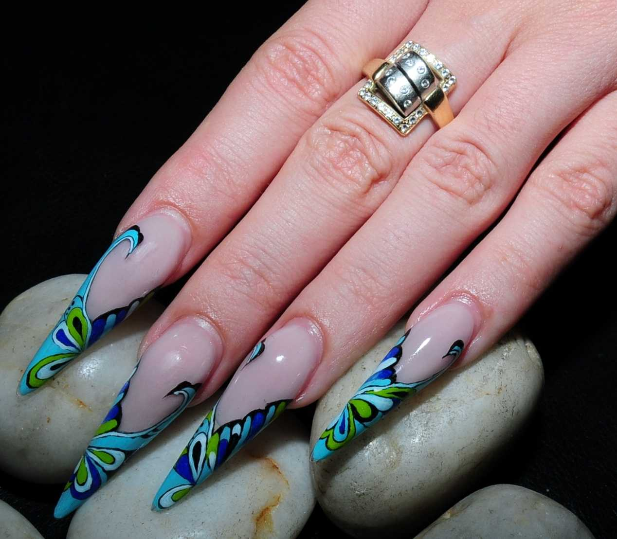 61 Latest Stiletto Nail Art Design Ideas For Teen Girls