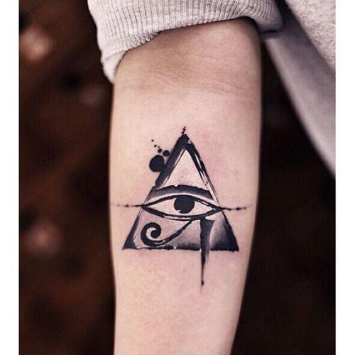 65 Incredible Horus Eye Tattoos