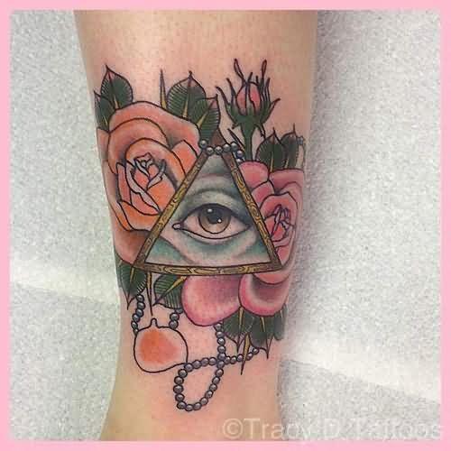 50 Unique Triangle Eye Tattoos Ideas