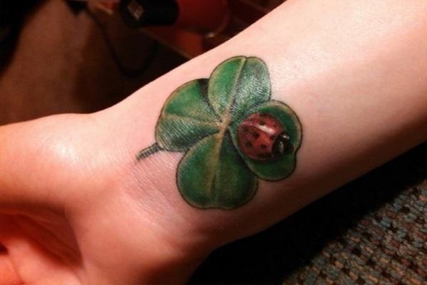 15 shamrock tattoos on wrists. Black Bedroom Furniture Sets. Home Design Ideas