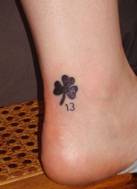10+ Shamrock Tattoos On Ankle