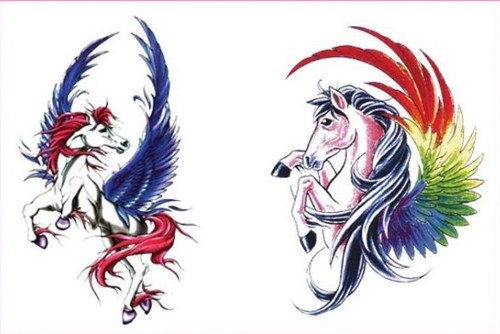 Pegasus Tattoo: 40+ Famous Pegasus Tattoo Designs