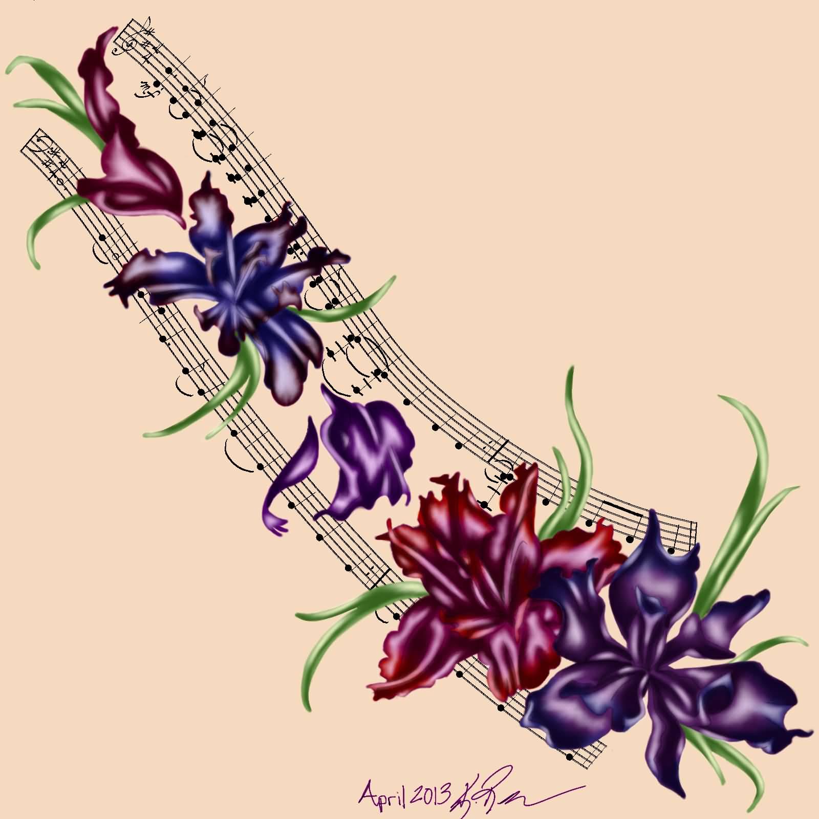 17 Iris Tattoo Designs And Ideas