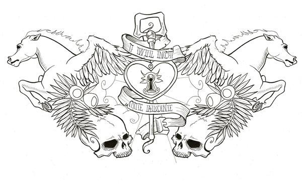 40 Famous Pegasus Tattoo Designs