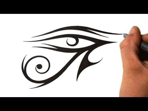 45 latest horus eye tattoo designs for Eye of horus temporary tattoo